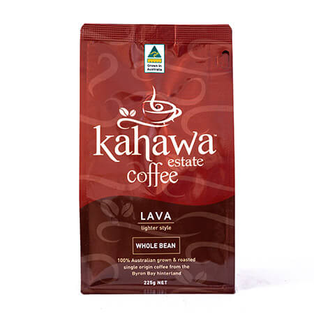 Lava 250gm whole bean pack